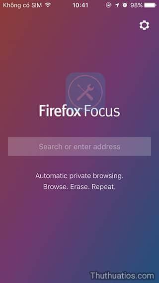 Đánh giá trình duyệt Firefox Focus: miễn phí, nhanh và rất bảo mật