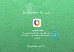 Hướng dẫn tải ứng dụng tô màu Tayasui Color (1,99$) tuyệt đẹp hoàn toàn miễn phí