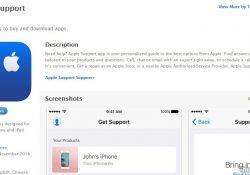 Apple phát hành ứng dụng hỗ trợ trực tuyến cho các thiết bị iOS
