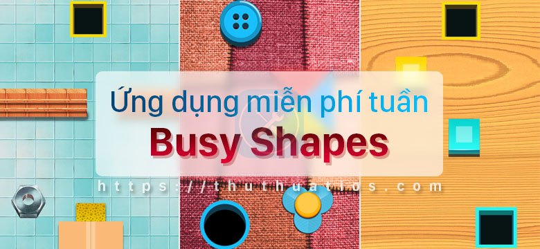 Busy Shapes