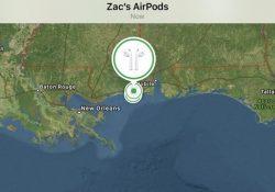 Hướng dẫn tìm tai nghe AirPods bị thất lạc trên iOS 10.3