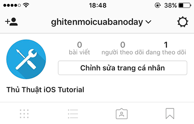 doi ten nguoi dung instagram
