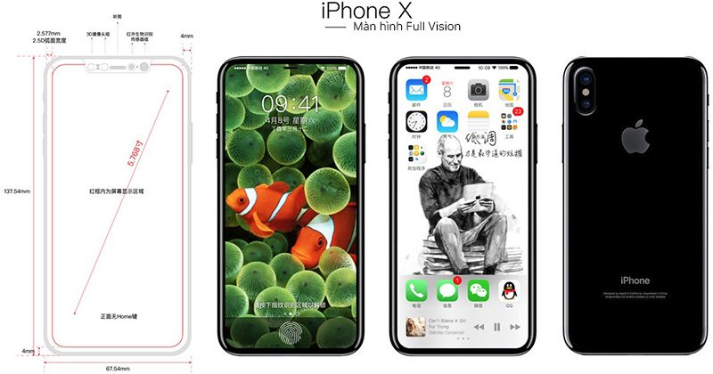 iphone x full vision mockup