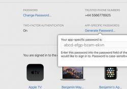 Hướng dẫn tạo mật khẩu ứng dụng của bên thứ ba để đăng nhập bằng iCloud