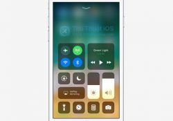 Trải nghiệm Control Center có thể tùy biến cao của iOS 11