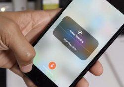 Cách bật tính năng quay màn hình trên iOS 11 mà không cần máy tính