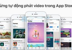 Cách dừng tự động phát video trong App Store
