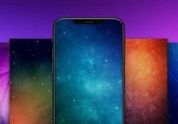 Mời tải về gói hình nền thứ nhất dành cho iPhone X