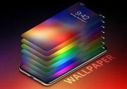 Mời tải về gói hình nền lấy cảm hứng từ iPhone X