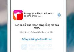 Apple tặng mã đổi quà ứng dụng Plotagraph+ (trị giá 4,99$) miễn phí