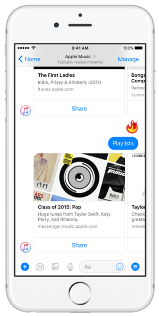 chat-bot-apple-music-trong-messenger