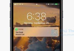 Cách bảo vệ các cuộc gọi nhỡ trên màn hình khóa của iPhone
