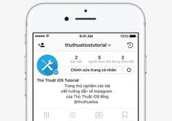 Hướng dẫn viết thông tin giới thiệu Instagram ở giữa trang cá nhân