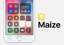 Maize – Tweak tuyệt vời để mang Control Center của iOS 11 lên thiết bị iOS 10
