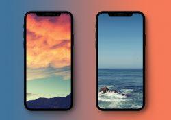 Mời tải về hình nền phong cảnh tự nhiên cho iPhone X