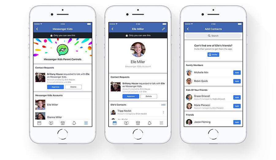Messenger-Kids-parental-controls