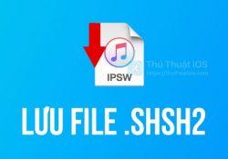 Hướng dẫn lưu shsh2 của thiết bị một cách tự động với TSSSaver