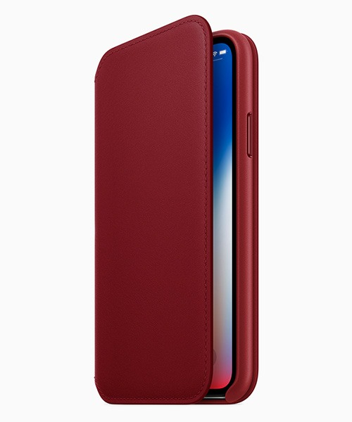 bao da product red iphone x