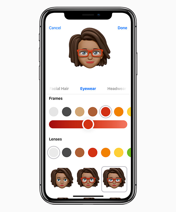 iOS12_Memoji-customize