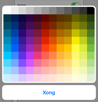 ios 12 markup colors