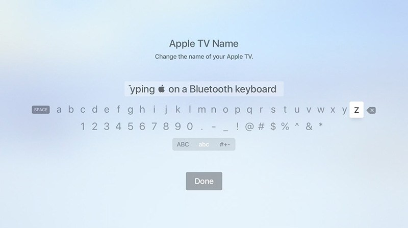 tvOS 12 cach go logo apple tren apple tv