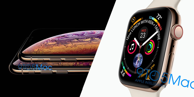 ro ri iphone xs va apple watch series 4