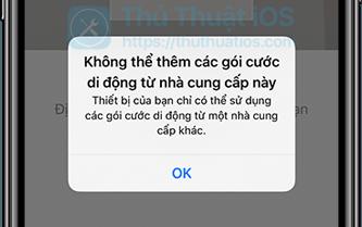 Cách thiết lập và sử dụng hai SIM trên iPhone XS, XS Max và iPhone XR 4